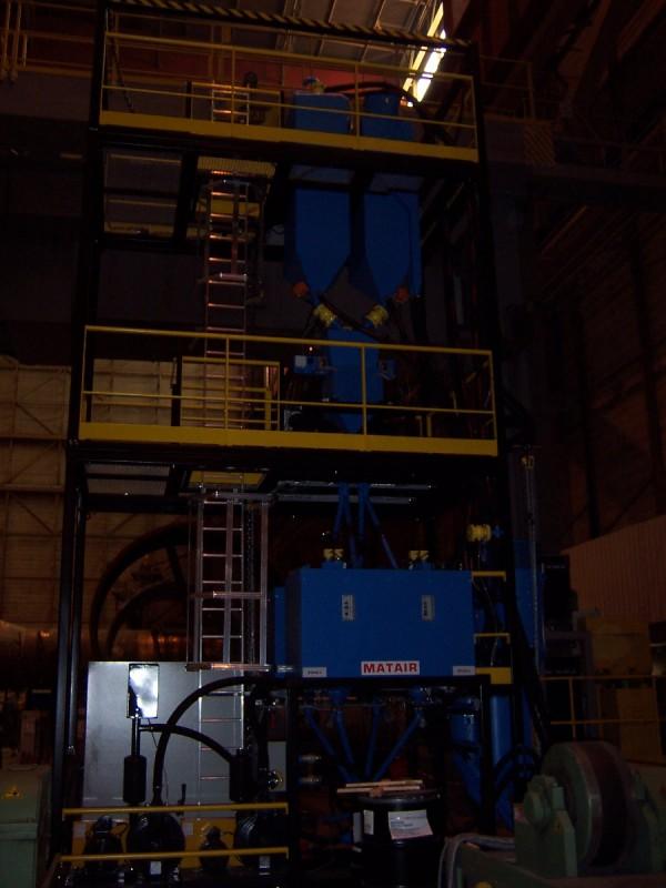 Centre d'étuvage et de recyclage de flux type CERF