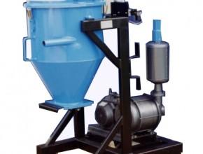 Aspirateur de poussière à décolmatage pneumatique : type APDP